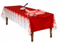 Blutdinner Tischdecke 2,75 x 1,37m