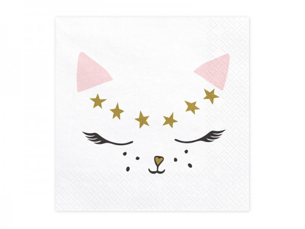 20 serwetek Cat Kiki 33 cm