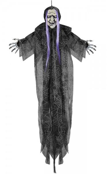 Halloweenowa wiedźma do powieszenia 110 cm