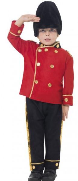 Britischer Grenadier Charles Kinderkostüm