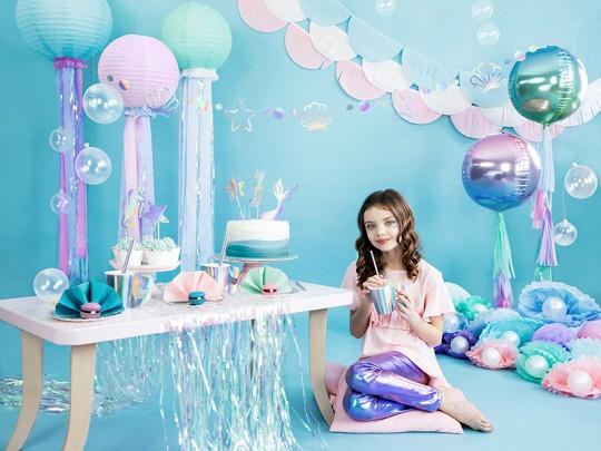 6 Mermaid Princess Pappteller 18,5cm 6