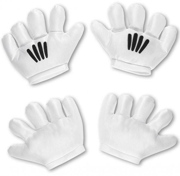 Cartoon Maus Handschuhe