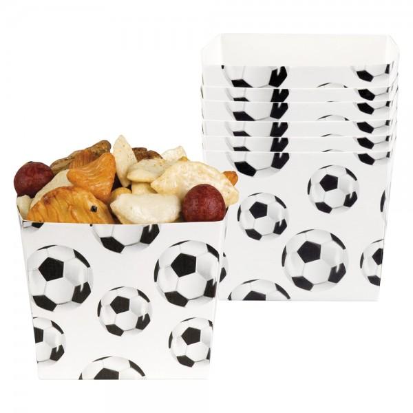 6 Snack Boxen Fußball-Star