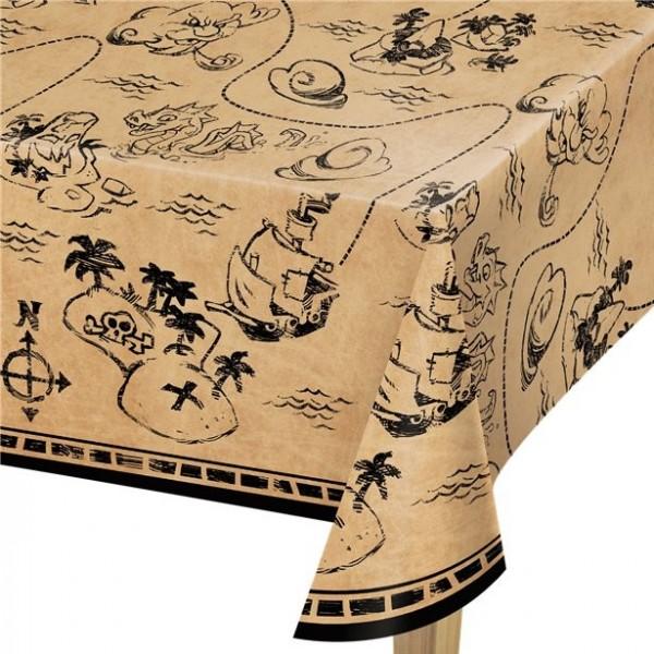 Mantel pirata caza del tesoro 137 x 259cm