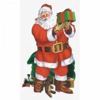 Santa Claus Wandkulisse 85cm x 1,65m