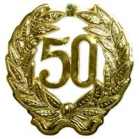 Goldene Hochzeit 50 Jahre Schild 42cm