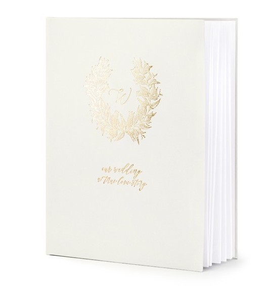 Gästebuch Our Wedding 20x24cm 22 Seiten 1