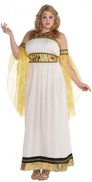 Oude godin Jupiter dameskostuum