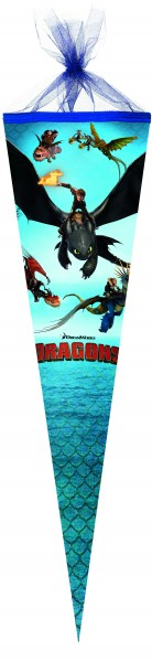 Schultüte Drachenzähmen leicht gemacht 50cm