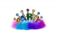 Glitter Tiara Party bunt