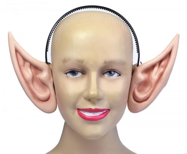 XXL elf ears on headband