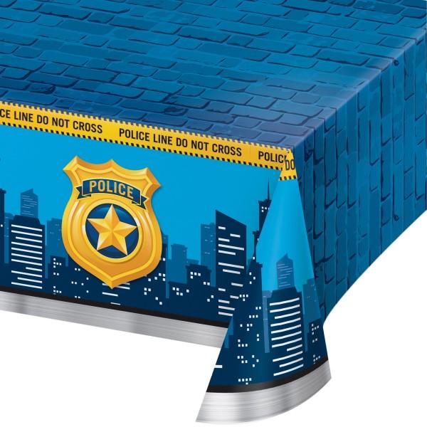 Polizei Revier Tischdecke 2,59 x 1,37m