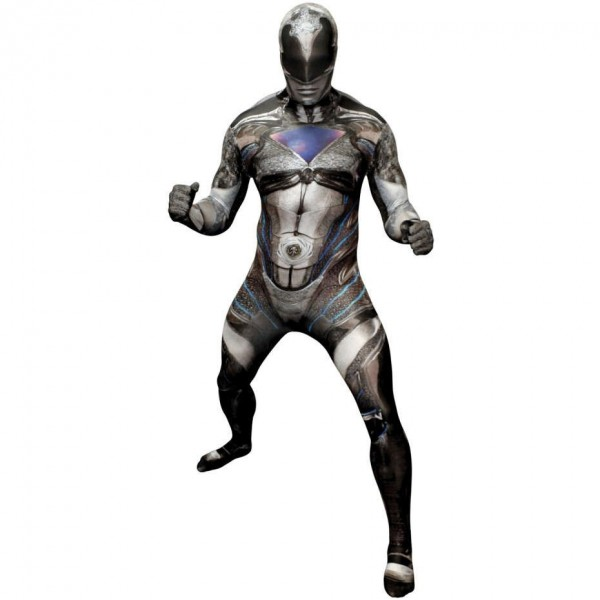 Morphsuit noir Power Ranger Deluxe