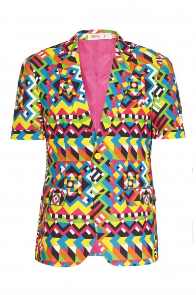 OppoSuits Sommer Anzug Abstractive