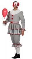Mörderischer Horror Clown Herrenkostüm