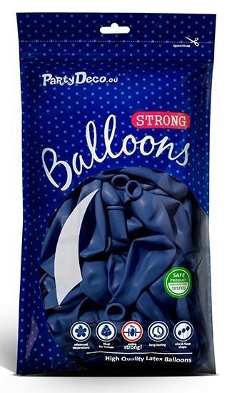 10 Partystar Balloons Royal Blue 27cm