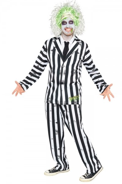 Beetlejuice men's deluxe costume