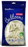 100 Transparente Partystar Ballons 27cm