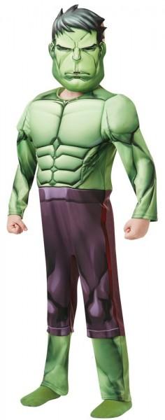 Avengers Assemble Hulk costume for kids Deluxe