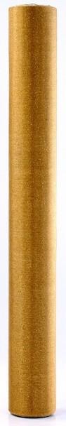 Glitzer Organza Daphne gold 9m x 36cm 3