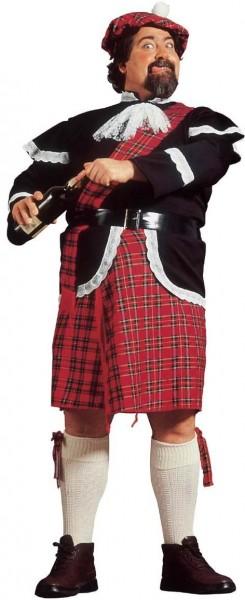 5-Teiliges Schotten Herrenkostüm