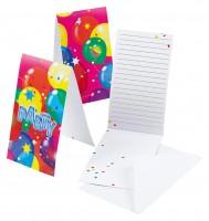6 Party Spaß Einladungskarten