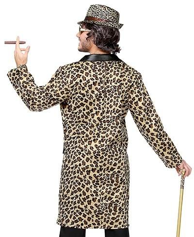 80er Jahre Leoparden Mantel für Herren