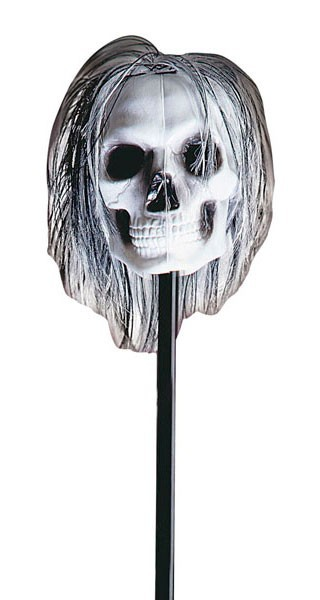 Skelett Schädel Stab 120cm