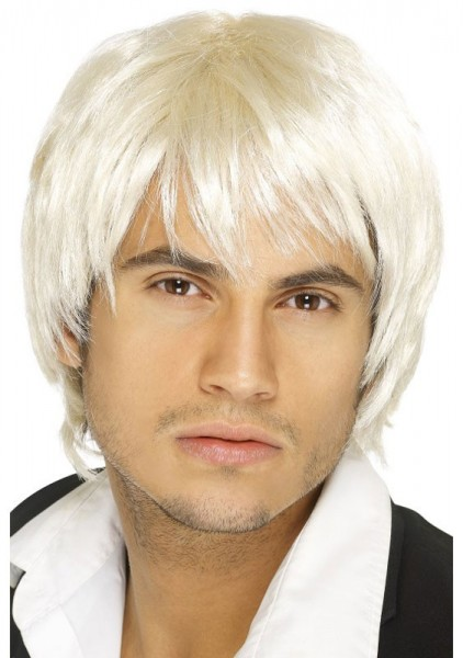 Blonde Softie Boyband Perücke Für Herren