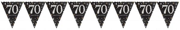 Collana scintillante per il 70 ° compleanno