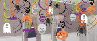 Creepy Halloween Wirbel Hängedekoration