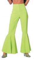 Grüne schicke Schlaghose