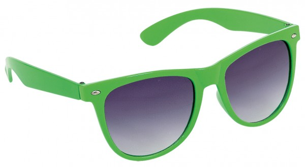 Grüne Retro Nerd Brille Brian