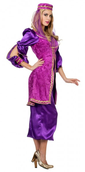 Orientalisches Nazeema Samt Kostüm