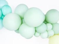 50 Partystar Luftballon pistazie 30cm