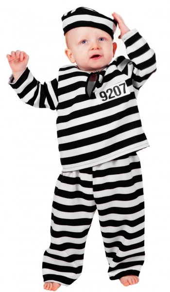 Kleiner Sträfling Kostüm Für Kinder