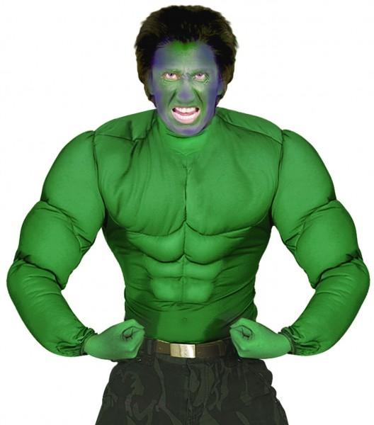 Camicia mostro Hulk con muscoli