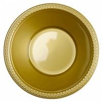 10 Party Buffet Schüsseln gold 355ml