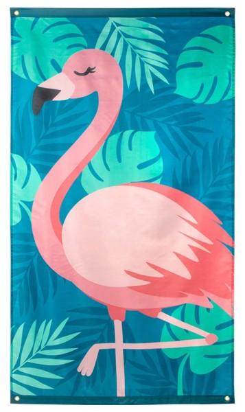 Party Flamingo Fahne 90cm x 1,5m