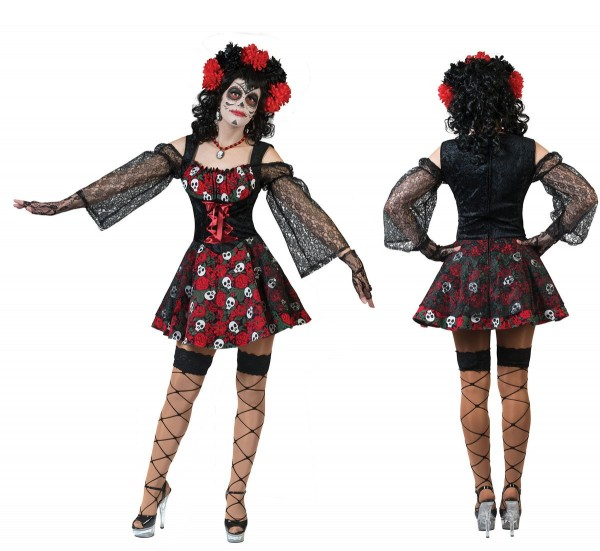Lady Janet Day Of The Dead Costume da donna