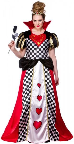 Königin Der Herzen Damenkostüm