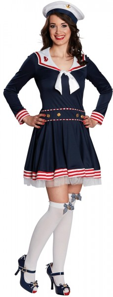 Maritimes Matrosin Damenkleid