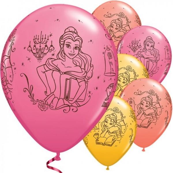 5 Belles Märchenstunde Luftballons 28cm