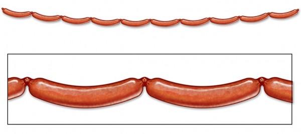 Bratwurst Oktoberfest krans 240 cm
