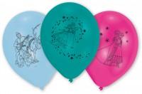 10 Frozen Eiszauber Luftballons 25cm
