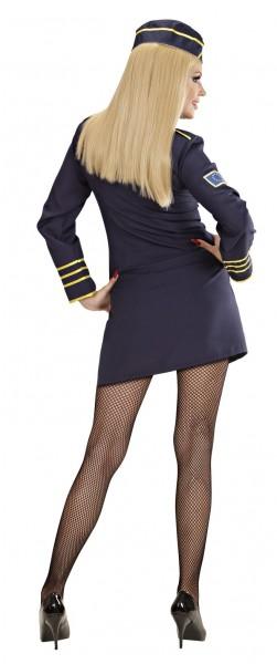 Stewardess Amanda Damenkostüm
