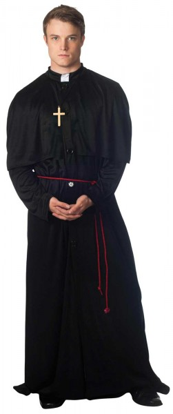 Priest men's costume Classic