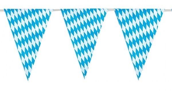 Chaîne de fanion Wiesngaudi Oktoberfest 4m