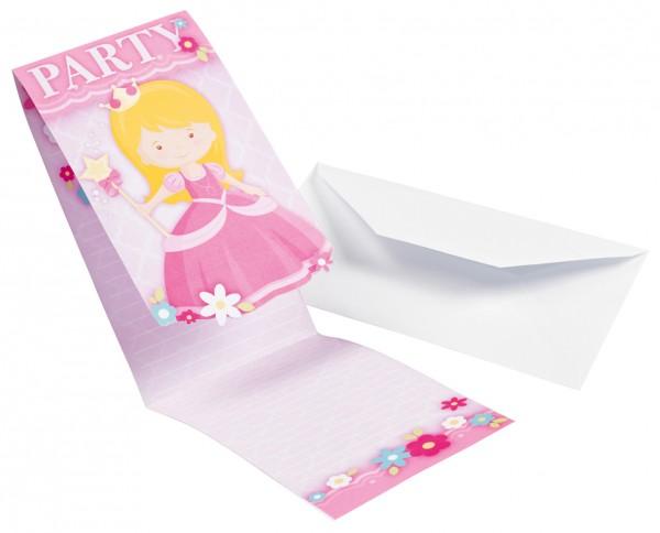 8 Prinzessin Isabella Einladungskarten