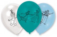 6 Frozen Eiszauber Luftballons 23cm